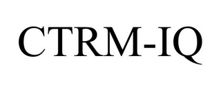 mark for CTRM-IQ, trademark #85974836