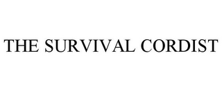 mark for THE SURVIVAL CORDIST, trademark #85974872