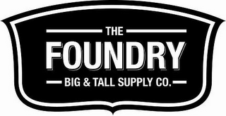 mark for THE FOUNDRY BIG & TALL SUPPLY CO., trademark #85975570