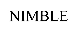 mark for NIMBLE, trademark #85975731