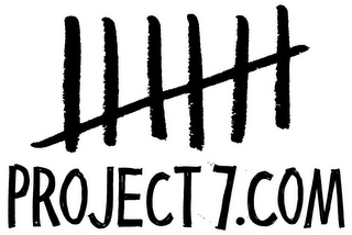 mark for PROJECT7.COM, trademark #85975788