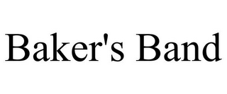 mark for BAKER'S BAND, trademark #85975790