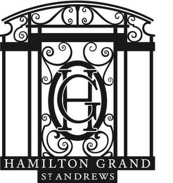 mark for HG HAMILTON GRAND ST. ANDREWS, trademark #85976789