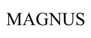 mark for MAGNUS, trademark #85977423