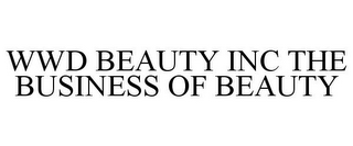mark for WWD BEAUTY INC THE BUSINESS OF BEAUTY, trademark #85977667