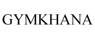 mark for GYMKHANA, trademark #85977809