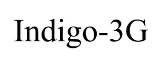 mark for INDIGO-3G, trademark #85978347