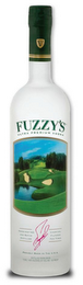 mark for FV FUZZY'S ULTRA PREMIUM VODKA HANDCRAFTED AND BATCH DISTILLED FUZZY ZOELLER CHARCOAL FILTERED TEN TIMES PROUDLY MADE IN THE U.S.A. DISTILLED FROM GRAIN 750 ML - 40% ALCOHOL BY VOLUME - 80 PROOF, trademark #85978446