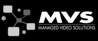 mark for MVS MANAGED VIDEO SOLUTIONS, trademark #85978511