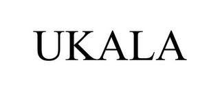 mark for UKALA, trademark #85978606