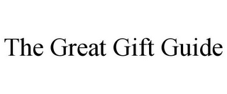 mark for THE GREAT GIFT GUIDE, trademark #85978809