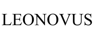 mark for LEONOVUS, trademark #85978955
