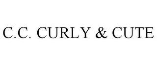 mark for C.C. CURLY & CUTE, trademark #85979112