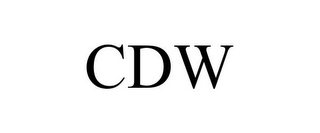 mark for CDW, trademark #85979134