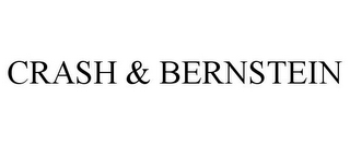 mark for CRASH & BERNSTEIN, trademark #85979385