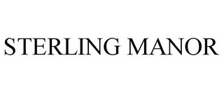 mark for STERLING MANOR, trademark #85979439