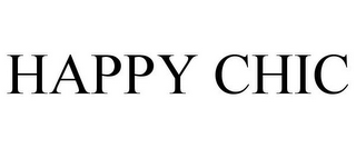 mark for HAPPY CHIC, trademark #85979558