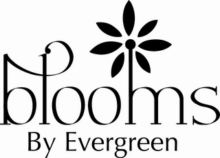mark for BLOOMS BY EVERGREEN, trademark #85979609