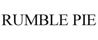 mark for RUMBLE PIE, trademark #85979654