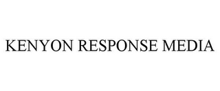 mark for KENYON RESPONSE MEDIA, trademark #85979687