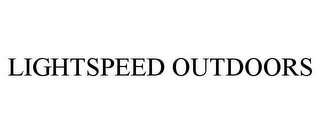 mark for LIGHTSPEED OUTDOORS, trademark #85979805