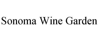 mark for SONOMA WINE GARDEN, trademark #85979878