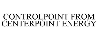 mark for CONTROLPOINT FROM CENTERPOINT ENERGY, trademark #85979957