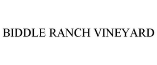 mark for BIDDLE RANCH VINEYARD, trademark #85980234