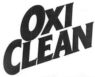 mark for OXI CLEAN, trademark #85980270