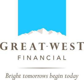 mark for GREAT-WEST FINANCIAL BRIGHT TOMORROWS BEGIN TODAY, trademark #85980295