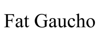 mark for FAT GAUCHO, trademark #85980448