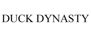 mark for DUCK DYNASTY, trademark #85980498