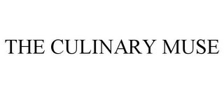 mark for THE CULINARY MUSE, trademark #85980516