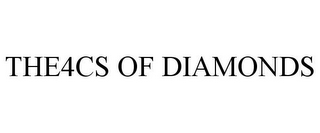 mark for THE4CS OF DIAMONDS, trademark #85980624