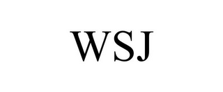 mark for WSJ, trademark #85980666