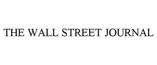 mark for THE WALL STREET JOURNAL, trademark #85980667