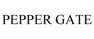 mark for PEPPER GATE, trademark #85980738
