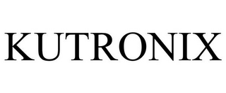 mark for KUTRONIX, trademark #86000087