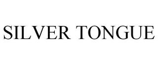 mark for SILVER TONGUE, trademark #86000816