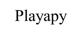 mark for PLAYAPY, trademark #86000915