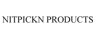 mark for NITPICKN PRODUCTS, trademark #86000991