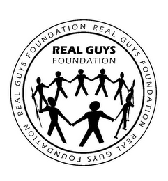 mark for REAL GUYS FOUNDATION REAL GUYS FOUNDATION REAL GUYS FOUNDATION REAL GUYS FOUNDATION, trademark #86001549