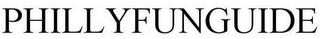 mark for PHILLYFUNGUIDE, trademark #86001981