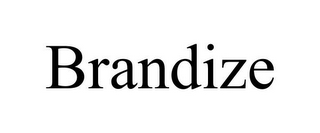 mark for BRANDIZE, trademark #86002063
