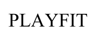 mark for PLAYFIT, trademark #86002640