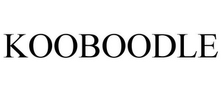mark for KOOBOODLE, trademark #86003419