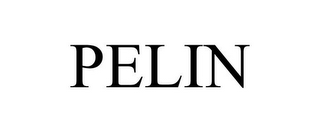 mark for PELIN, trademark #86003432