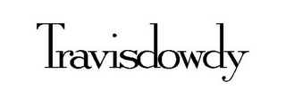 mark for TRAVISDOWDY, trademark #86004174
