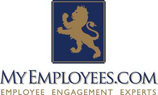mark for MYEMPLOYEES.COM EMPLOYEE ENGAGEMENT EXPERTS, trademark #86004418