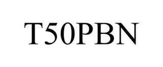 mark for T50PBN, trademark #86005034